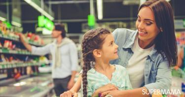 التسوق مع الأطفال
