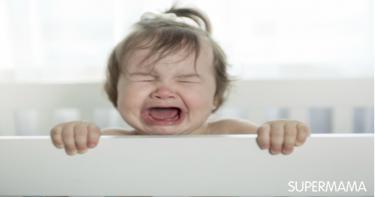 أسباب فزع الرضيع أثناء النوم