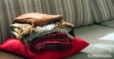 7 أنواع للأغطية تمنحكِ الدفء في الشتاء