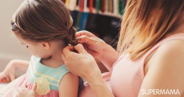 أَضرار ربط شعر البنات للخلف