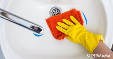 5 خطوات لتنظيف البقع الصفراء بالحوض والبلاعة