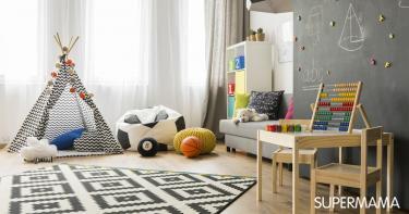 تنظيم غرفة الطفل