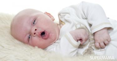 الكحة عند الرضيع