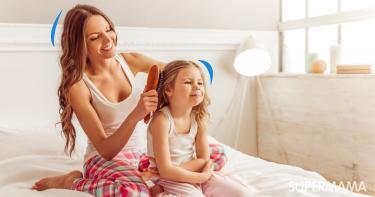 4 أضرار تصيب طفلتك عند ربط شعرها دائمًا