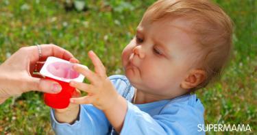 ما هي خطورة و فوائد الزبادي للاطفال الرضع
