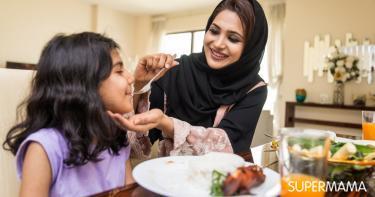 آداب الطعام للأطفال