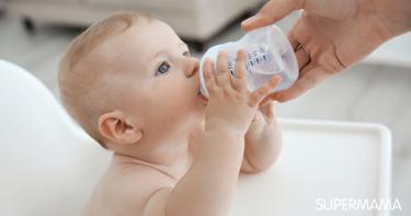كم يحتاج الرضيع من الماء يوميا