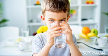 كمية الماء اللازمة للطفل