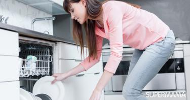 منظف غسالة أطباق