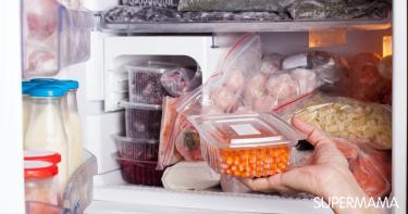 تخزين اللحم فى الثلاجة