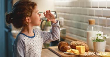 شرب الماء عند الأطفال