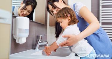 النظافة الشخصية للطفل