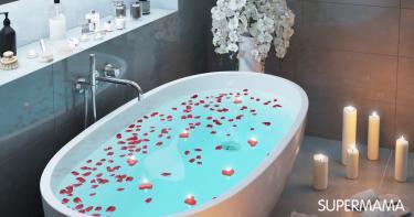 حمام رومانسي للزوج
