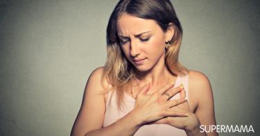 ألم الثديين قبل الدورة الشهرية