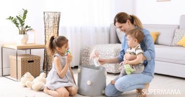 تعليم الأطفال الترتيب والنظام