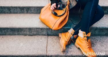 ألوان حقائب وأحذية الخريف والشتاء
