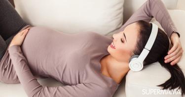 تأثير الموسيقى على الحامل والجنين