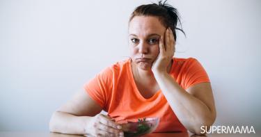 زيادة الوزن والاكتئاب