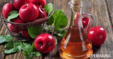 فوائد خل التفاح للشعر والبشرة