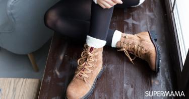 f1f5fad6f بالصور: موضة أحذية الشتاء 2018 | سوبر ماما