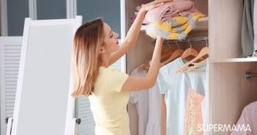 تخزين الملابس الصيفية