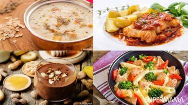 جدول وجبات الأسبوع
