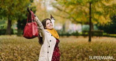حقيبة الحامل في الشتاء