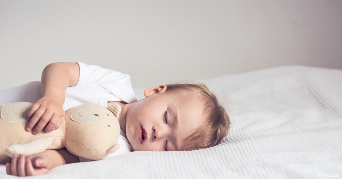 علاج كحة الأطفال الرضع في أثناء النوم سوبر ماما