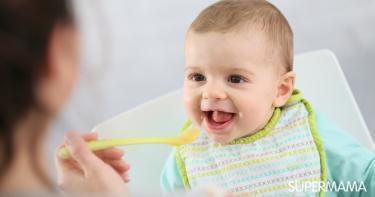 فوائد الخضروات للأطفال الرضع
