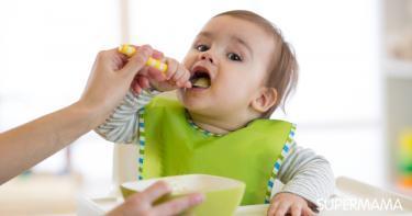 الطعام المناسب أثناء فترة التسنين