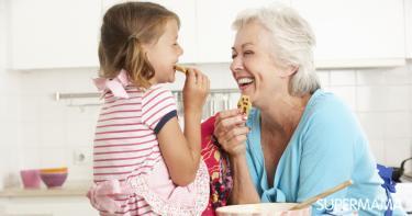 أمي.. ما أحلاكِ عندما أصبحتِ جدة