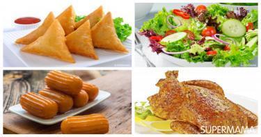 قائمة طعام رمضانية