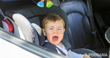 دراسة تُحذر من بقاء الأطفال في مقعد السيارة طوال اليوم