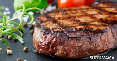 جعل اللحوم المشوية طرية