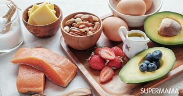 تناول الدهون في الكيتو دايت