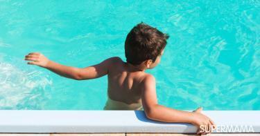خوف الأطفال من السباحة