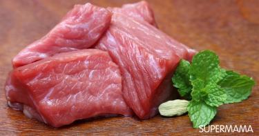 تخزين اللحم