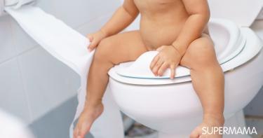 تدريب الطفل على الحمام