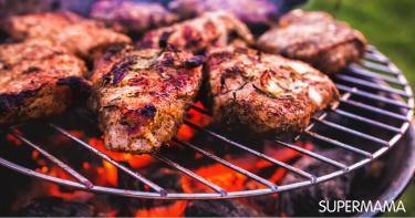 أضرار شواء اللحوم على الفحم
