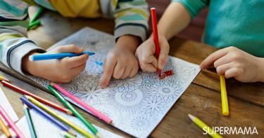 تعليم الأطفال الألوان
