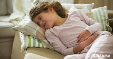 أسباب المغص عند الأطفال