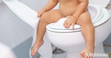 تعليم الطفل الحمام