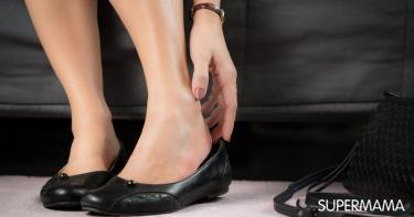 توسيع الحذاء الضيق