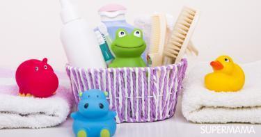أدوات استحمام حديثي الولادة