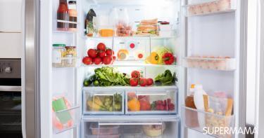 حفظ الطعام في الثلاجة