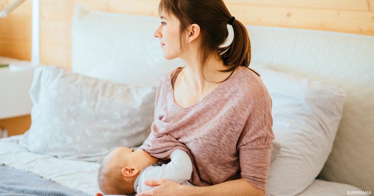الرضاعة بعد سن السنتين سوبر ماما