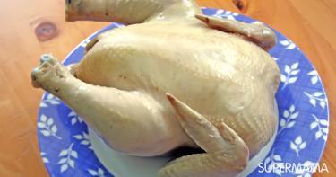 طريقة سلق الدجاج