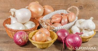 أنواع البصل