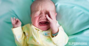 بكاء الأطفال دون سبب