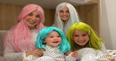 هذه هي طريقة نانسي عجرم بالاحتفال مع أطفالها